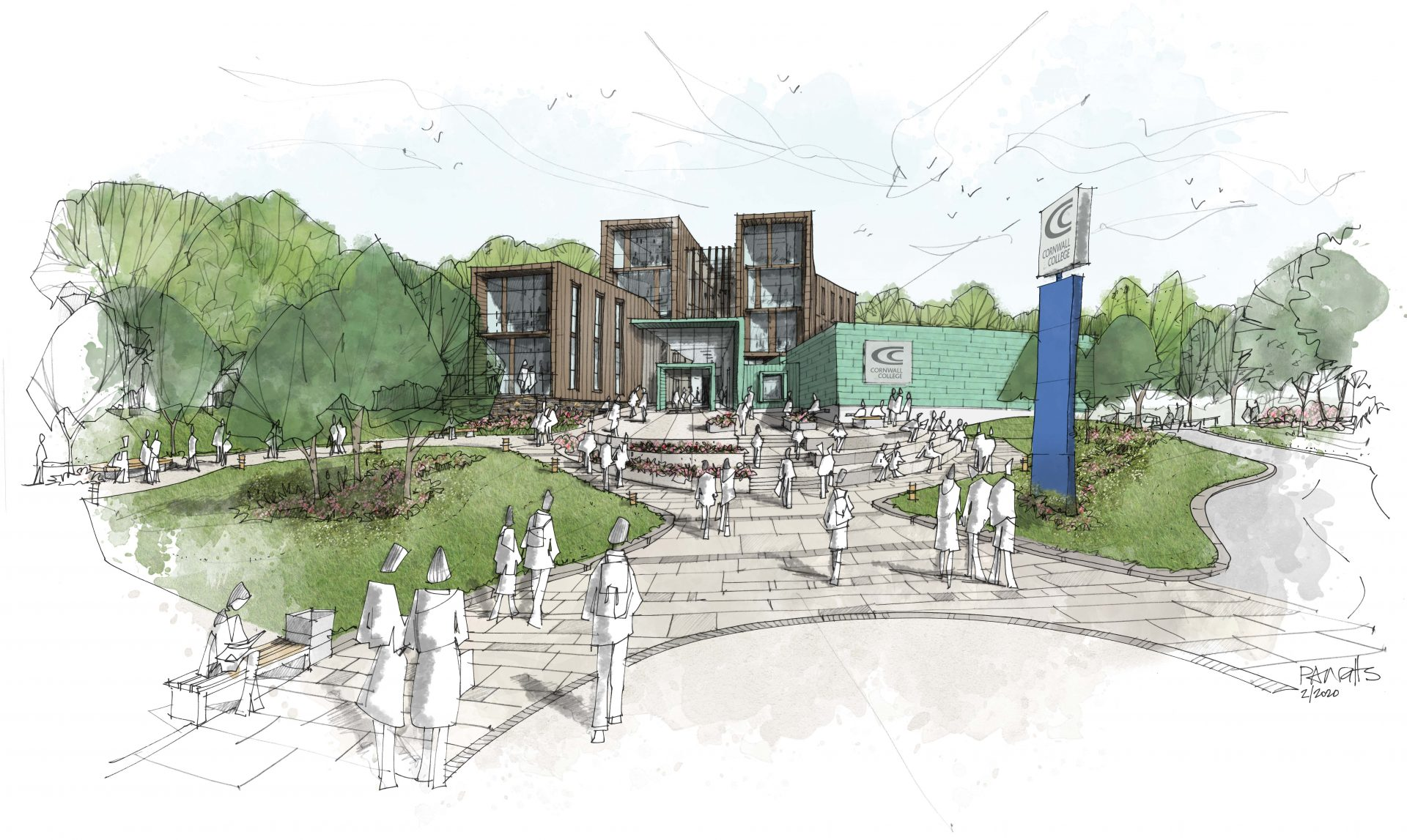 £1.5bn college investment fund to help boost Cornish town